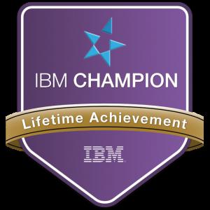 IBM Champion Lifetime Achievement