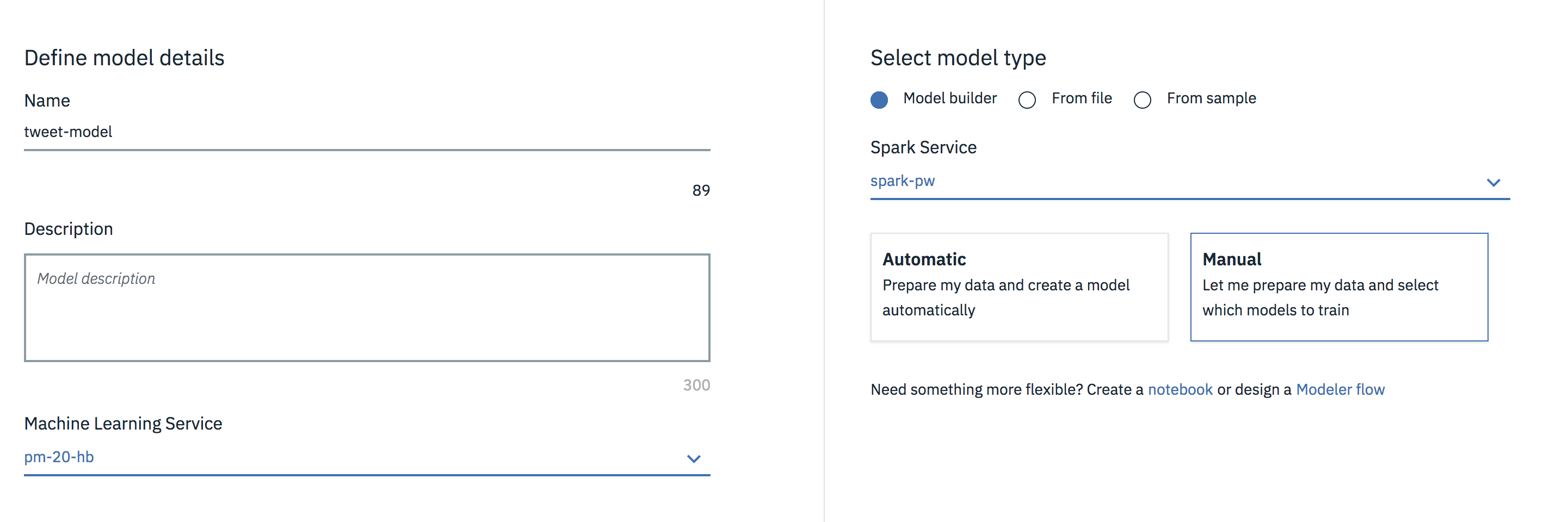 Build a predictive model on Watson Studio using CSV data set from