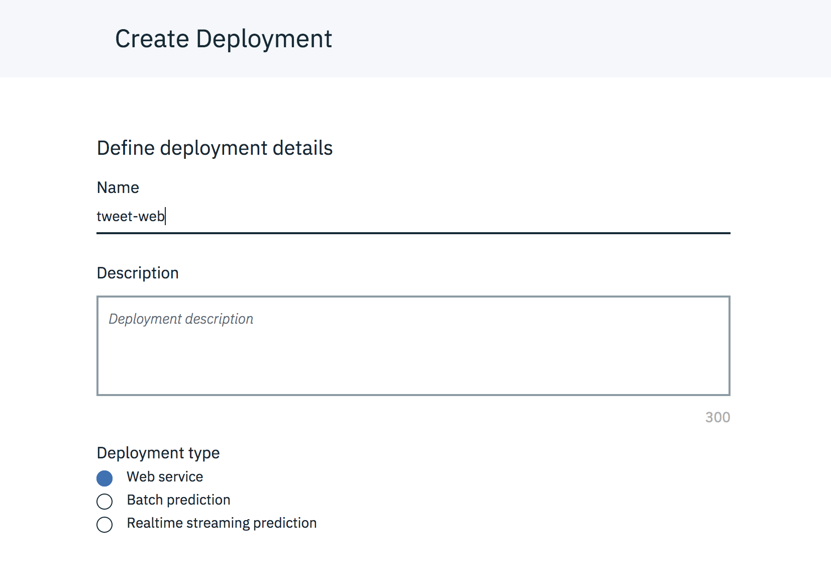 Build a predictive model on Watson Studio using CSV data set